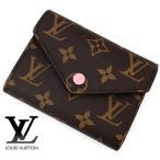 LOUIS VUITTON ルイヴィトン M62360 モノグラム ポルトフォイユ・ヴィクトリーヌ 小銭入れ付き 二つ折り財布 ローズ・バレリーヌ