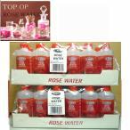 TOP OP ローズウォーター 200ml 24セット  india rose water  芳香蒸留水 フローラルウォーター フラワーウォーター アロマウォーター 化粧水