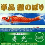 単品こいのぼり☆寿光鯉☆赤6m鯉のぼり