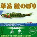 単品こいのぼり☆寿光鯉☆グリーン1.5m鯉のぼり
