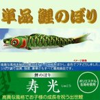 単品こいのぼり☆寿光鯉☆グリーン4m鯉のぼり