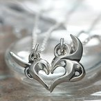 Yahoo!オーダーペアアクセ&腕時計FISSペアネックレス シルバー FISS (Bon fire 〜思い出の篝火〜) (FISS-T100)