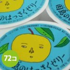 因島 はっさくゼリー 72個セット 八朔果肉入り 果物ゼリー フルーツゼリー 贈り物 スイーツ ギフト