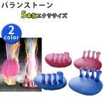 バランストーン 5本指エクサ 健康サンダル AKAISHI 全2色 ピンク ブルー