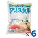 海藻クリスタル 海藻麺 500g×6個セット 国産 低カロリ