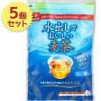 はくばく 水出しでおいしい麦茶 18袋入×5個セット テトラパック 国産六条大麦100% ノンカフェイン