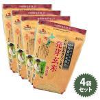 特別栽培米 大潟村あきたこまち 発芽玄米 (無洗米) 1kg×4袋セット 国産 栄養機能食品(鉄分)