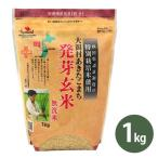 特別栽培米 大潟村あきたこまち 発芽玄米 (無洗米) 1kg 国産 栄養機能食品(鉄分) 秋田県