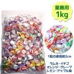 若山製菓 フルーツラムネ 1kg 約300粒 業務用 キャンディ個包装 ラムネ菓子 ブドウ糖補給 景品 ばら撒き ハロウィン