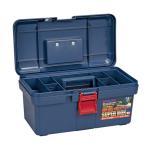 リングスター PC工具箱 SR-400 青 D400×W225×H203mm 工具箱 ツールボックス ケース プラスチック 大型 椅子 屋外 クラフト 座れる 激安 ベランダ 工具バッ
