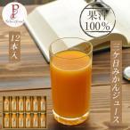 青島 三ケ日みかんジュース ストレート あおしま 12本詰め合わせ