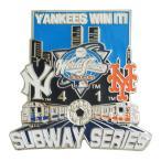 MLB ワールドシリーズ 2000 ヤンキース vs メッツ 記念 ピンバッジ