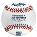 MLB メジャーリーグ グッズ ボール 公式球 硬式球 ローリングス Rawlings ケース付き 2020ワールドシリーズ