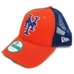 MLB メッツ ボールド メッシュ 9FORTY キャップ ニューエラ/New Era