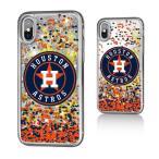 お取り寄せ MLB アストロズ iPhone X ケース/カバー スパークル グリッター