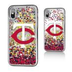 お取り寄せ MLB ツインズ iPhone X ケース/カバー スパークル グリッター