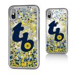 お取り寄せ MLB レイズ iPhone X ケース/カバー スパークル グリッター