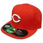 MLB レッズ キャップ/帽子 ホーム ニューエラ Authentic Performance On-Field キャップ