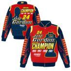 NASCAR ジェフ・ゴードン ナスカー ツイル ジャケット JH デザイン/JH Design レッド