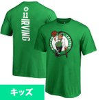 お取り寄せ NBA セルティックス カイリー・アービング キッズ ネーム&ナンバー Tシャツ ケリーグリーン