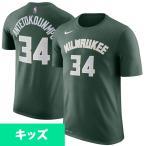 NBA バックス ヤニス・アデトクンボ キッズ アイコン ネーム&ナンバー Tシャツ ナイキ/Nike 3Z2B711F1