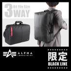 アルファインダストリーズ リュック (ALPHA INDUSTRIES 限定商品) リュックサック メンズ 3WAY ビジネスバッグ ブリーフケース ABL-1702