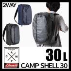 2way ダッフルバッグ リュック ショルダーバッグ Coleman コールマン CAMP SHELL 30 キャンプシェル 防水加工 30L ターポリン 2000031111 2000031112