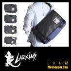 ショッピングメッセンジャーバッグ ラーキンス メッセンジャーバッグ 防水性・防汚性に優れたターポリン素材を使用 LARKINS LKPM-14 メンズ レディース