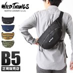【日本正規品】ワイルドシングス WILD THINGS ウエストバッグ ヒップバッグ ボディバッグ ワンショルダーバッグ メンズ レディース 380-0005