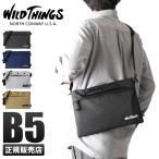 【日本正規品】ワイルドシングス WILD THINGS サコッシュ ショルダーバッグ 超軽量 メンズ レディース 380-0052