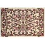 ミントン ウイルトン織り インテリアマット (60×90cm, ピンク)