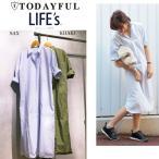 ショッピングSHIRTS SALE50%OFF TODAYFUL トゥデイフル Skipper Shirts OP スキッパーシャツワンピース 11610333