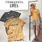 TODAYFUL トゥデイフル Burnt-out Tee Tシャツ 11710614/2017春夏