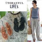 (7月上旬予約)TODAYFUL (トゥデイフル) LIFE's (ライフズ) Flat Sandals フラットサンダル 11711080(代金引換不可)/2017秋冬