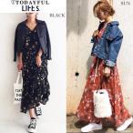 (10月上旬予約)TODAYFUL (トゥデイフル) LIFE's (ライフズ) Chiffon Flower Dress シフォンフラワーワンピース 11720303(代金引換不可)/2017秋冬