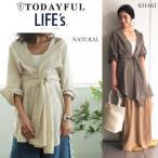 ショッピングSHIRTS (9月上旬予約)TODAYFUL(トゥデイフル) LIFE's (ライフズ)  Belted Shirts Gown ベルト付きシャツガウン 11720428(代金引換不可)