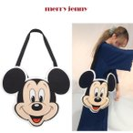 SALE20%OFF merry jenny メリー ジェニー mickey tote ミッキートートバッグ 281723200401/2017春夏