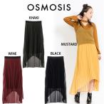 SALE30%OFF OSMOSIS オズモーシス 通販 イレギュラーヘムプリーツスカート 782006-906