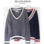 gelato pique ジェラートピケ 【GELATO PIQUE HOMME】ジェラートVネックプルオーバー pmnt174918