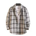 [クーパーアンドコー] 3カラー XS~2XL トップス シャツ 大人 カジュアル 胸ポケット付き チェックシャツ メンズトップス チェック