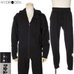 ハイドロゲン HYDROGEN セットアップ 上下 ジップパーカー スウェット メンズ ブラック/グレー 250606 250608