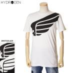 ハイドロゲン HYDROGEN 半袖Tシャツ メンズ スカルプリント ホワイト/ブラック 265608 2020年春夏新作