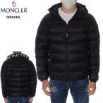 モンクレール ライトダウンジャケット メンズ フードロゴ マットブラック MONCLER MATT BLACK PROVINS 2021年春夏新作