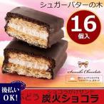 銀のぶどう シュガーバターの木 ショコラがけサンド 炭火ショコラ 16個入