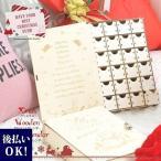 アドベントカレンダー 選べる2タイプ BOX専用ミニ南京錠付き お菓子 2020 クリスマス チョコレート 子ども おもちゃ