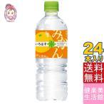 い・ろ・は・す みかん(日向夏&温州) PET 555ml(24本/1ケース) ミネラルウォーター ペットボトル いろはす コカ・コーラ コカコーラ Coca-Cola