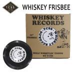 TCSS,ティーシーエスエス / フライングディスク・フリスビー / WHISKEY RECORDS FRISBEE / WST1701 / BLACK・ブラック / ビーチアイテ...