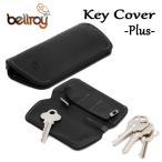 BELLROY,ベルロイ/キーカバー,キーケース/KEY COVER PLUS/鍵4〜8本/EKCB/BLACK・ブラック/レザー