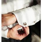 カフス かっこいい ビジネス使い 結婚式 パーティー ブロック柄 カフスボタンおしゃれな袖 大人の男 メンズ 紳士用 男性用 オシャレ