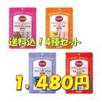 砂糖不使用・送料込・マービー低カロリー ジャムスティック 4 種セット!